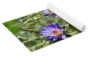 Pond Florals Yoga Mat