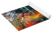 Pond In The Woods Yoga Mat