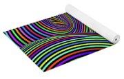 Pop Swirls Yoga Mat