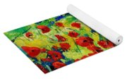 Poppies 78 Yoga Mat