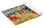 Poppies And Traverses 2 Yoga Mat