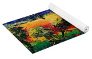 Poppies In Provence Yoga Mat