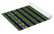 Power Tower And Agave Abstract Yoga Mat