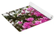 Purple Abundance Yoga Mat