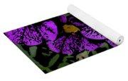 Purple Floral Fantasy Yoga Mat