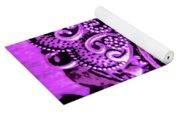 Purple Heart Collection Yoga Mat