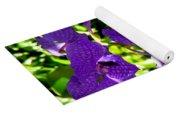 Purple Orchids Yoga Mat