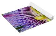 Purple Radial Yoga Mat