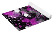 Purple Splash Yoga Mat