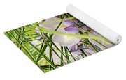 Pushing Though Or Wisteria And Long Needle Pine Yoga Mat