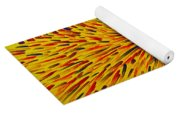 Radiation Yellow  Yoga Mat
