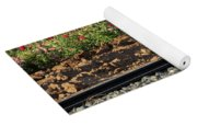 Rails And Roses Yoga Mat