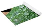 Rain Drops Yoga Mat