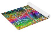 Rainbow Animals Yoga Mat Yoga Mat