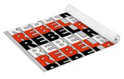 Rebel Without A Pause Yoga Mat