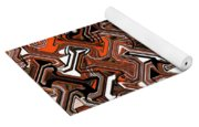 Recurring Pattern Abstract Yoga Mat