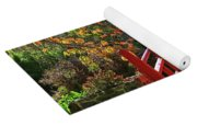 Red Bridge With Shadows Yoga Mat