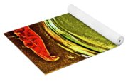 Red Pepper Bay Leaf And Thyme Yoga Mat