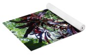 Red Trees Yoga Mat