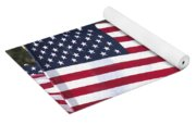 Red White And Blue Yoga Mat