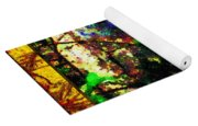 Redbird Sifting Beauty Out Of Ashes Yoga Mat