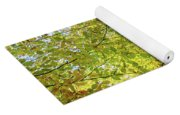 Reflected Color Of Autumn Yoga Mat