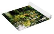 Reflection On Oscar - Claude Monet's Garden Pond Yoga Mat