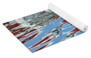 Reflections - Red White Blue Yoga Mat