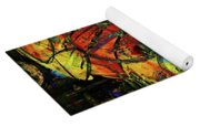 Release Valve Abstract Yoga Mat