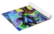 Reloaded Or Education Is A Powerful Weapon Mural Yoga Mat