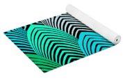 Roaring 20's Turquoise Yoga Mat