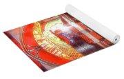 Rock And Roll Jukebox Yoga Mat