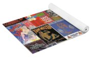 Rock Concert Posters Collage 1 Yoga Mat