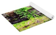 Rock Wall Reflections Yoga Mat