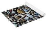 Rocks And Sticks On The Beach Yoga Mat