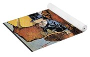 Roosevelt/mckinley Cartoon Yoga Mat