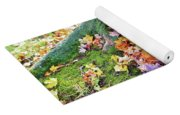 Roots And Leaves Yoga Mat