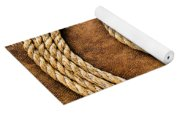 Rope On Leather Yoga Mat