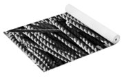 Ropes For The Rigging Bw 1 Yoga Mat
