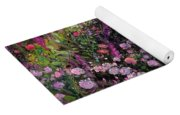 Rose Bed And Geese Yoga Mat