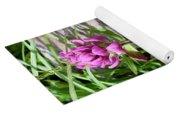 Rosy Wildflowers Yoga Mat