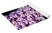 Rows And Flows Of Angel Flowers Yoga Mat