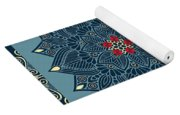 Rubino Zen Flower Yoga Mat