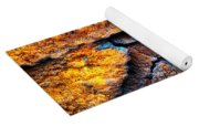 Rust Abstract 9 Yoga Mat