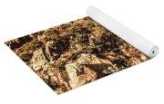 Rustic Cliff Spring Yoga Mat