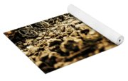 Rustic Mountain Bikes Yoga Mat
