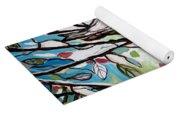 Sage Glimmering Songbird  Yoga Mat
