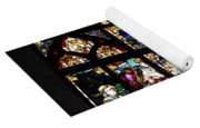 Saint Augustine Stained Glass Yoga Mat