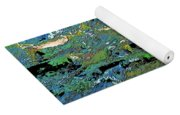 Salmon Run 4 Yoga Mat