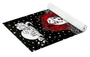 Scarlet Checkers Yoga Mat